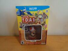 Captain Toad: Treasure Tracker + Toad amiibo (Wii U) ~ Free Shipping
