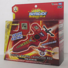 Original Takara Tomy Beyblade Burst B-94 Digital Sword Launcher Red