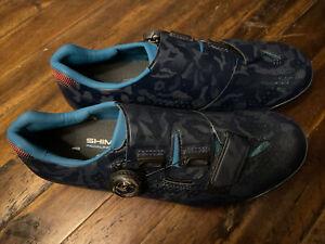 Shimano SH-RX800 RX8 Women's Bike Shoes size 40 Navy