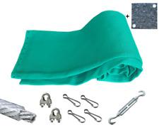 Pfeilfangnetz grün - extra safe - 7m x 3m, inkl. Zubehör & GRATIS-Backstop