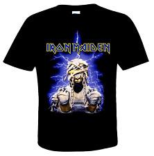 IRON MAIDEN official T-Shirt POWERSLAVE MUMMY  British Heavy Metal  Eddie