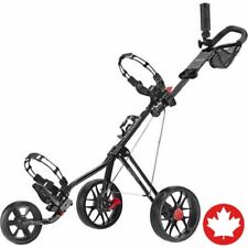 Caddytek SuperLite Deluxe Golf Push Cart Compact Lightweight Folding 3-Wheel NEW
