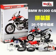 1:12 BMW R1200GS Assemble Kit Motorcycle Bike Model Toy New in Box 26PCS