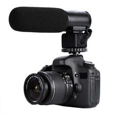 K&f Concept 3.5mm Video Interview Mic Microphone for Nikon Canon DSLR Camcorder