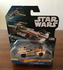 STAR WARS: HOT WHEELS CARSHIPS X-WING GREAT FOR THE TRACK