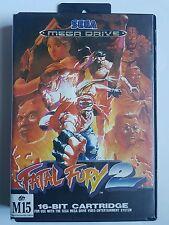 """Sega Mega Drive FATAL FURY 2 - """"Rare Australian PAL Version"""" Megadrive Game"""