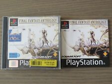 JEU PLAYSTATION PS1 FINAL FANTASY ANTHOLOGY COMPLET EN FRANCAIS