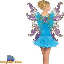BUTTERFLY FAIRY ANGEL WINGS FANTASY adults ladies womens fancy dress costume