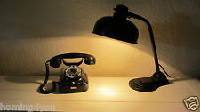 HALA Bauhaus antike Schreibtisch Lampe Wandlampe Büroleuchte Drehschalter