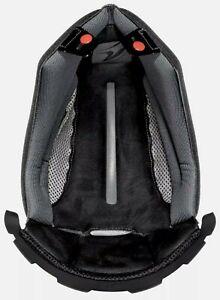 Shark Evoline Series 3 Helmet Top Inner Liner Pad Titanium Black Gray XS X-Small