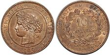 10 CENTIMES CERES 1880   F.135 SUP+!!!