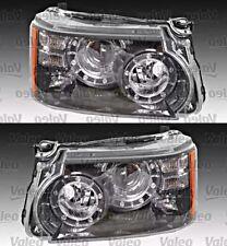 Bi-Xenon Led Afs Headlight Front Lamp Set Fits Land Rover Range Suv 2009-2013