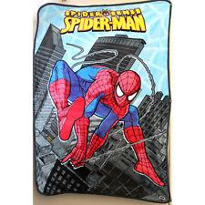 NEW Kids Boys Fur Fluffy Soft Carton Bedding Blanket Spiderman Polar Throw SZ1.4