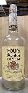 Giant Four Roses Whiskey Bottle Old Frankfort Distillery Antique Advertising VTG