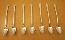 "Community Plate, 7- Iced Tea Spoons, ""Deauville"" c: 1929"