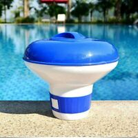 Swimming Pool 5'' Floating Chemical Dispenser Floater Chlorine Tablet Cleaning