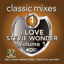 DMC Steve Wonder Megamixes & 2 Trackers Mixes Remixes Motown DJ CD
