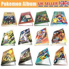 For Pikachu Ultra Pro Pokemon Card Folder 240/324 Pockets Portfolio Binder Album
