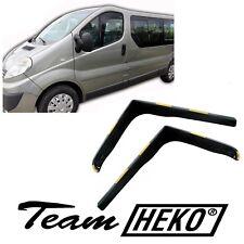 DRE27144 Renault Trafic 2001-2014 HEKO Derivabrisas Negro 2 Piezas Kit