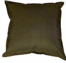 "Waterproof Garden Cushion Covers Outdoor Indoor Luxury Cushion Covers 18"" & 24"""