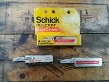 Lot Of Vintage SCHICK Injector Razors