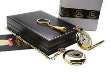 SIGNED TOM WAITS Pocket Watch MICROPHONE Keyring Luxury Gift Set 24k Gold Clad
