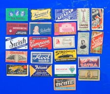 22 lovely old Razor Blade wrappers....
