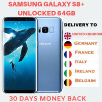 Samsung Galaxy S8+ (plus) SM-G955F 64GB Coral Blue Android Smartphone