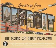 THE SOUND OF EARLY MOTOWN NEW 3 CD BOX SET GREETINGS FROM DETROIT 75 SOUL HITS