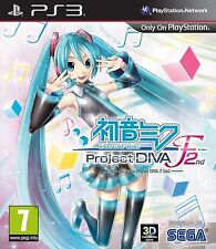 Sony PS3 Playstation 3 Spiel ***** Hatsune Miku: Project Diva F 2nd *****NEU*NEW