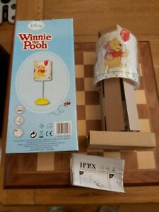BNIB Disney Winnie The Pooh Lamp with LED Bulb by Helix-Lighting + Instructions