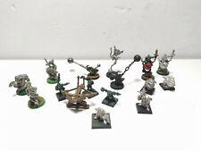 Warhammer Orcos Salvajes Goblins Lanza pinchos Garrapatos.
