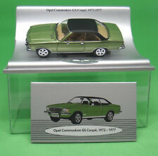 Opel Commodore GS Coupe 1972 - 1977 Collection Car Modell 1:43 mit Box