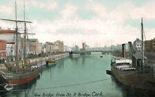 Cork,Ireland,New Bridge from St.Patrick's Bridge,c.1909
