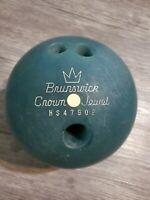 16# (15.9) Brunswick CROWN JEWEL Used Nostalgia Bowling Ball