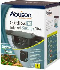 QUIETFLOW 10 INTERNAL SHRIMP FILTER by Aqueon - FOR SHRIMP AND PLANTS