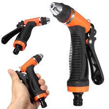 Brass Hose Nozzle High Pressure Water Spray Gun Sprayer Garden Auto Car Washing