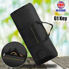 More details for thick 61 key keyboard bag waterproof electronic piano cover case carrier fabrics