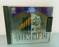 Microsoft Home Bookshelf '94 CD Software 1994 Multimedia Reference Library
