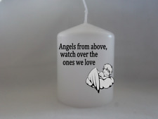 Unique Anniversary Memorial Mum Dad Angels ones we love Mothers Day Candle
