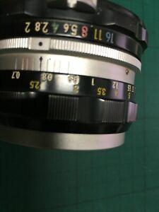 Nikon Manual 50mm F2 manual lens