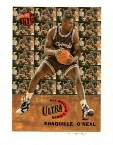 1992-93 Ultra All Rookie Series Shaquille O'Neal #7 NM-MT