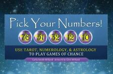 TAROT, Pick Your Numbers!,  LUCK,Numerology, Astrology, Lottery, NEW, SEALED!