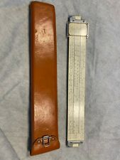 Vintage 1947 K&E Slide Ruler Rule 681210 - Unique with original leather case.