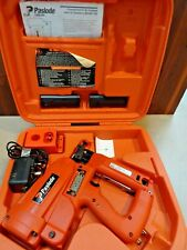 Paslode IM250 2nd fix brad pin gin Serviced with 2 new batteries & charger