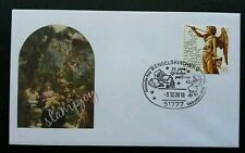 Germany Christmas Angel 2010 (stamp FDC)