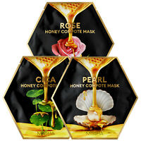 MISSHA Honey Compote Facial Sheet Gel Mask Rose Pearl Cica Face Care Pack 27g