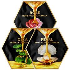 MISSHA Honey Compote Facial Sheet Gel Mask Rose Pearl Cica Face Care Pack 27g