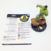 Heroclix Avengers Defenders War set Hulk (Amadeus) #052 Super Rare figure w/card