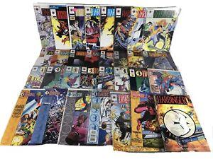 Harbinger Valiant Lot 31 Comic Spans 0-40 Files 1 2 Children Of The Eighth Day